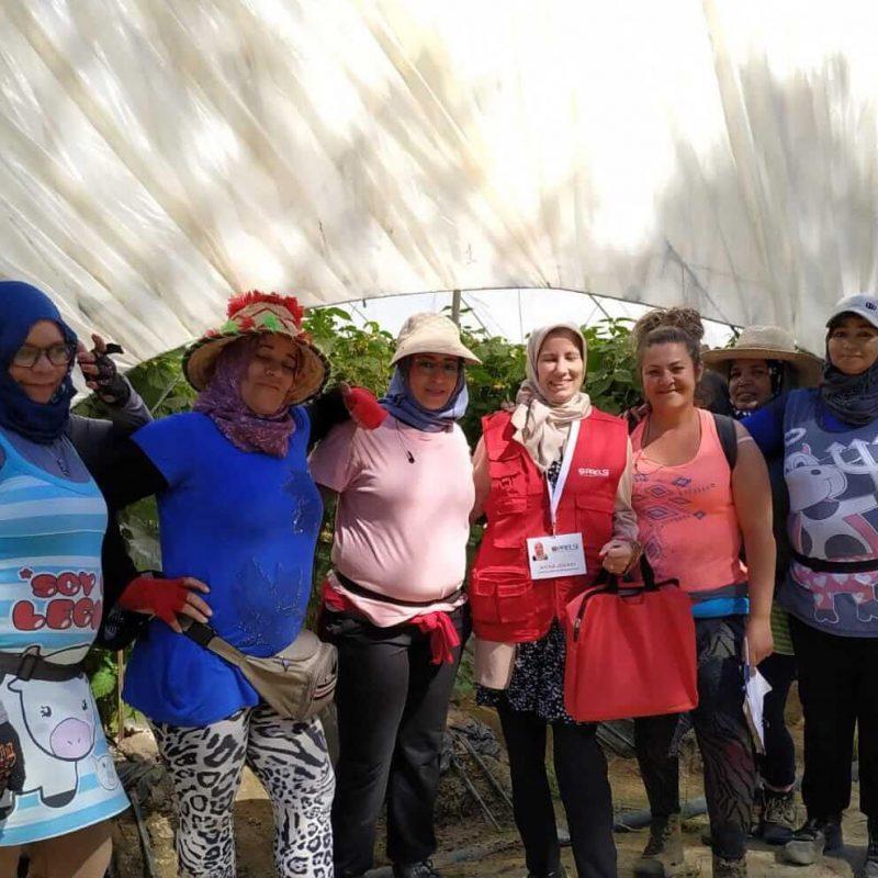 El sector de los frutos rojos se perfila como una oportunidad laboral para miles de mujeres del ámbito rural