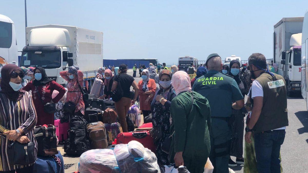 Interfresa celebra el desbloqueo del retorno anticipado de 170 temporeras marroquíes